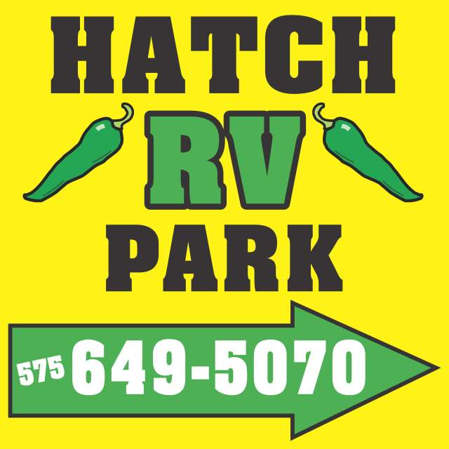 Hatch RV Park Sign